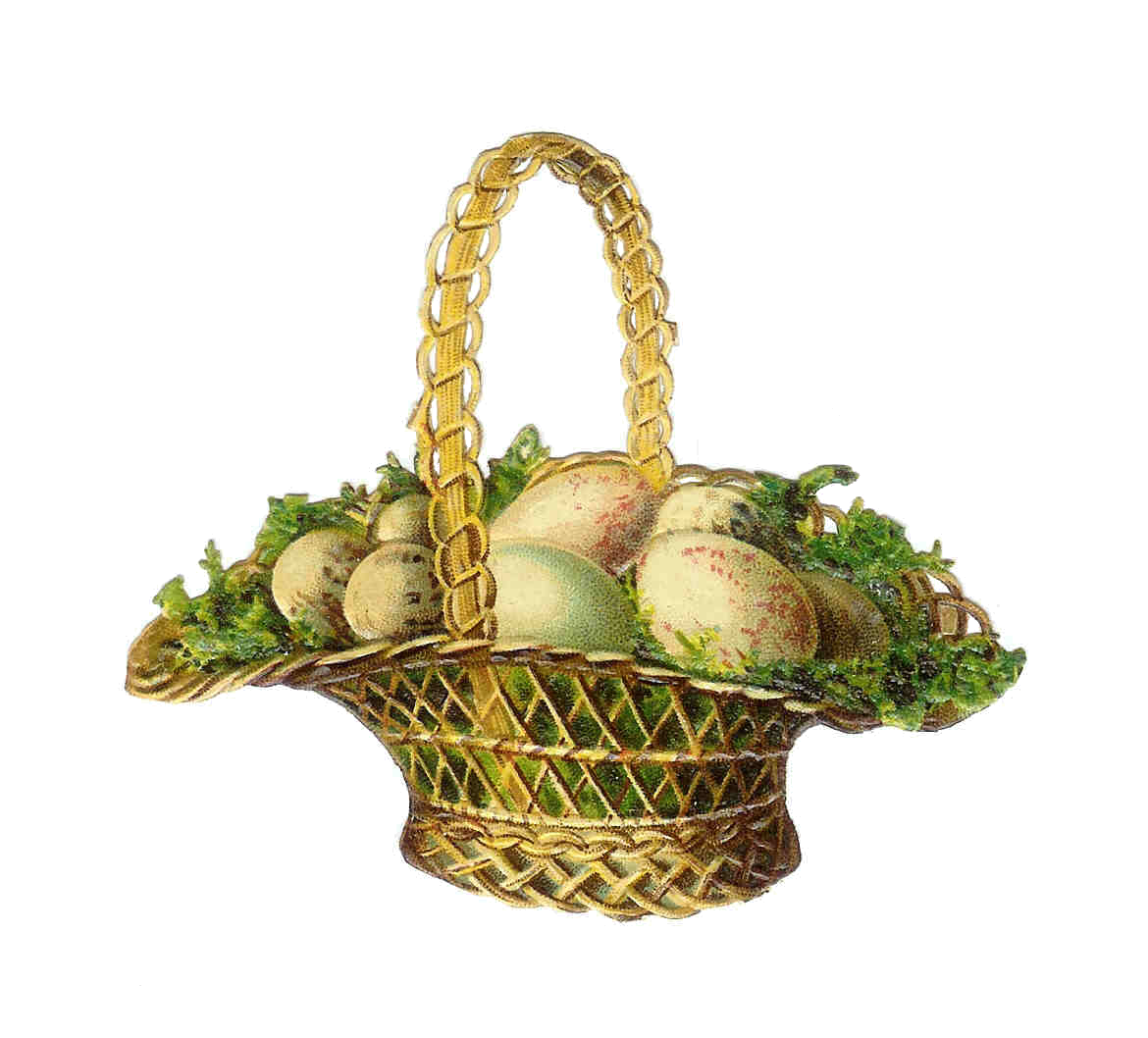 clip art for easter baskets - photo #32