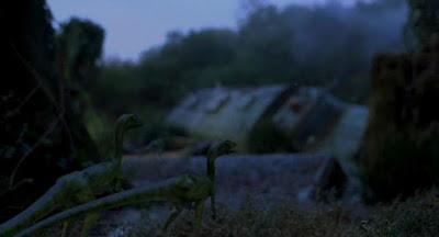 Compsognathus en Jurassic Park