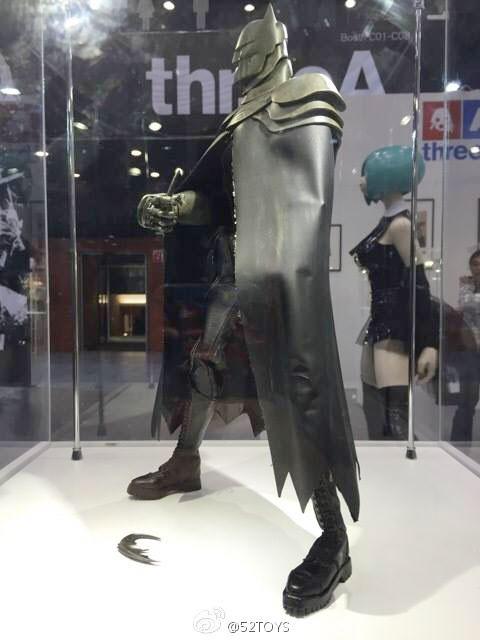 Batman Toys Age 5 : Steel age batman by threea toys revealed at toysoul