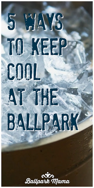 These five tips will keep you cool at the ballpark all summer long. Post also includes a great tip for keeping cooling towels clean and disinfected for the team.