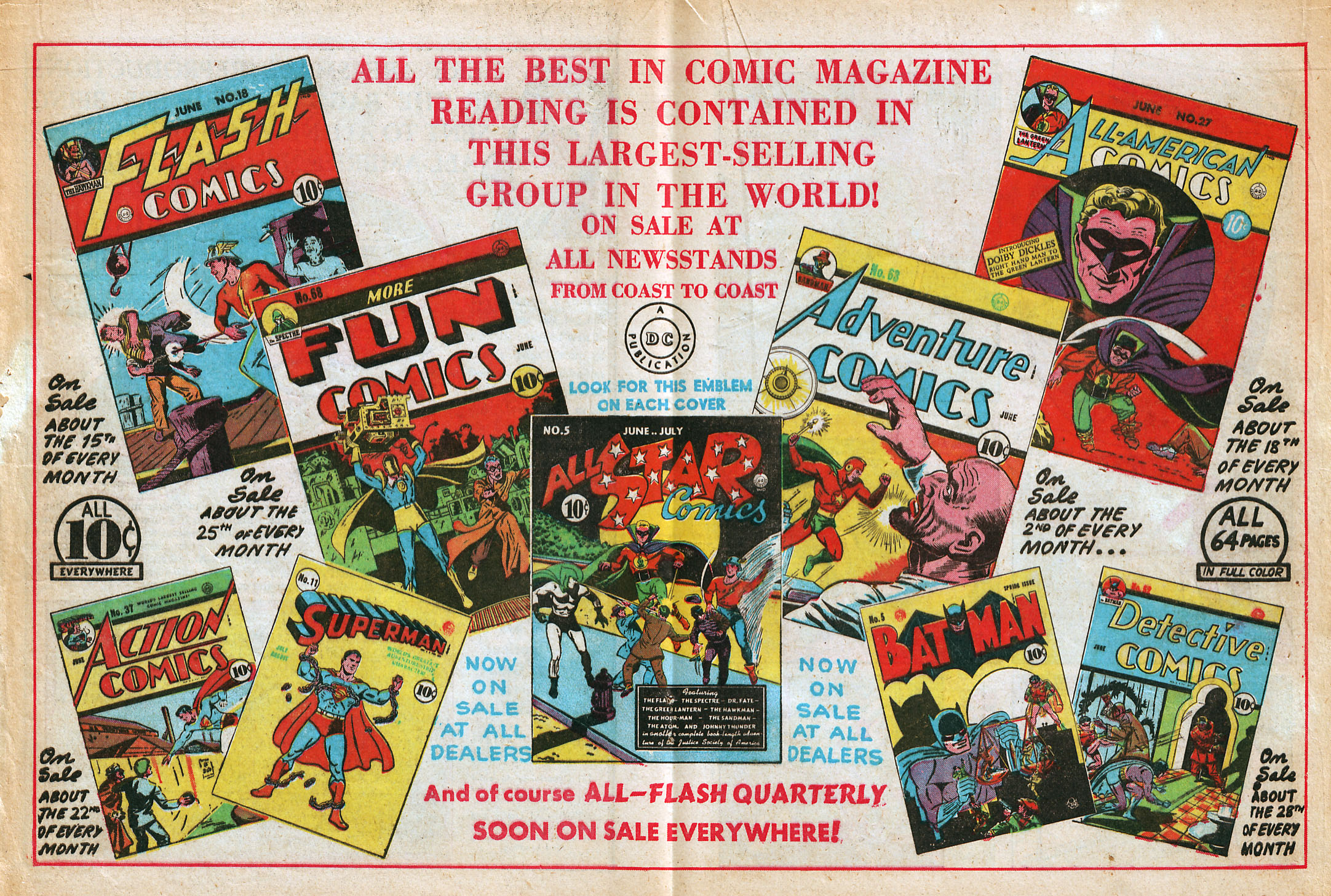 Read online All-Star Comics comic -  Issue #5 - 34