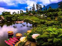 Dusun Bambu Lembang, Harga Tiket Masuk, Makanan & Kamar Penginapan