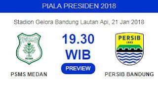 PSMS Medan vs Persib Bandung