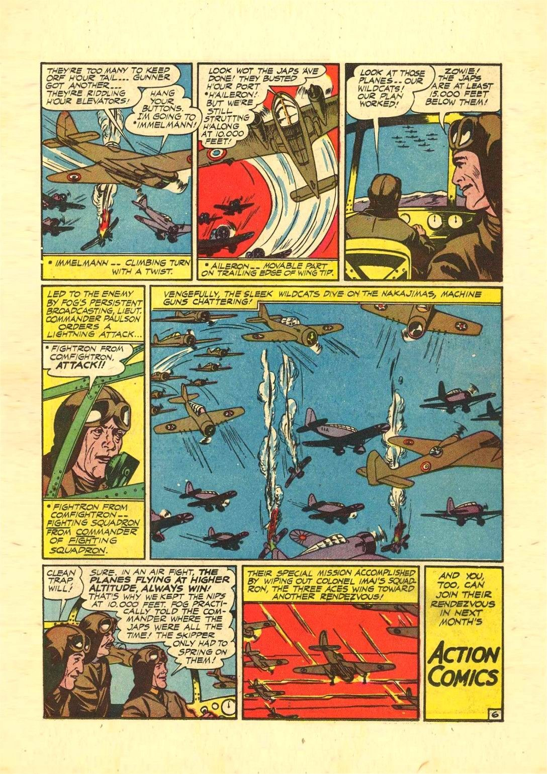 Read online Action Comics (1938) comic -  Issue #54 - 36