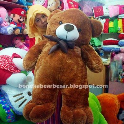 boneka beruang besar murah coklat