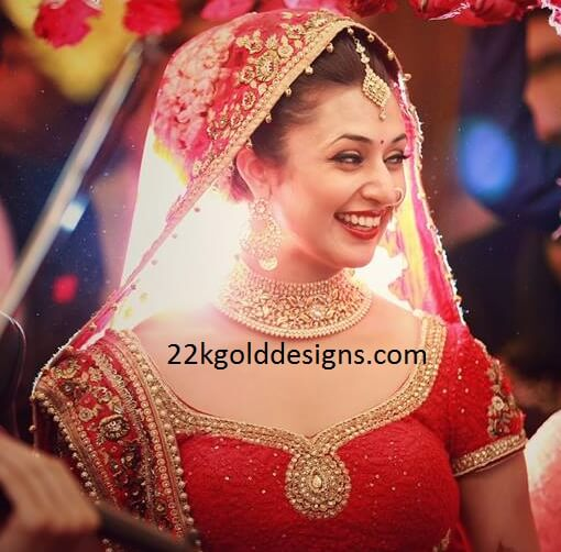 Divyanka Tripathi Wedding Jewellery