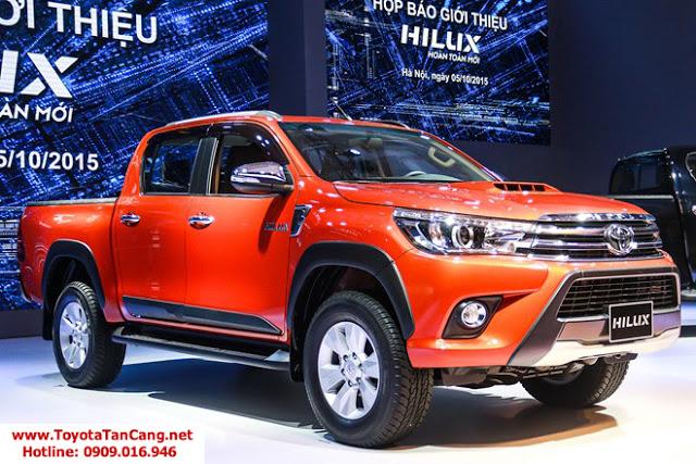 Hilux 2016 ra mắt là một bước đột phá mạnh mẽ của Toyota dành cho xe bán tải