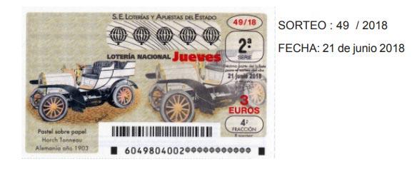 loteria nacional del jueves 21 de junio de 2018