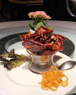 Shangri-La Bosphorus İstanbul restaurant menü