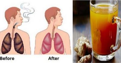 Minuman Ajaib Untuk Membersihkan Paru-paru Perokok