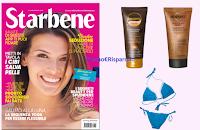 Logo ''Starbene'' in edicola con solare Biopoint o Leocrema e bikini!