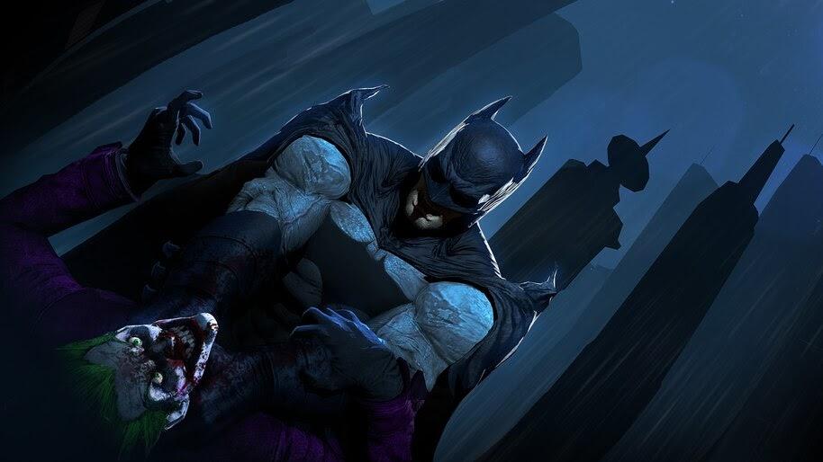 Batman vs. Joker, DC, Comics, 4K, #6.1315