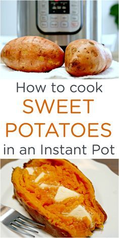 Sweet potatoes are not only delicious, but are also really good for you. They have quickly become a family favorite in our home, and it's easy to cook Instant Pot sweet potatoes with very little effort, but tons of flavor! If you don't have an Instant Pot, you can cook sweet potatoes in any pressure cooker.