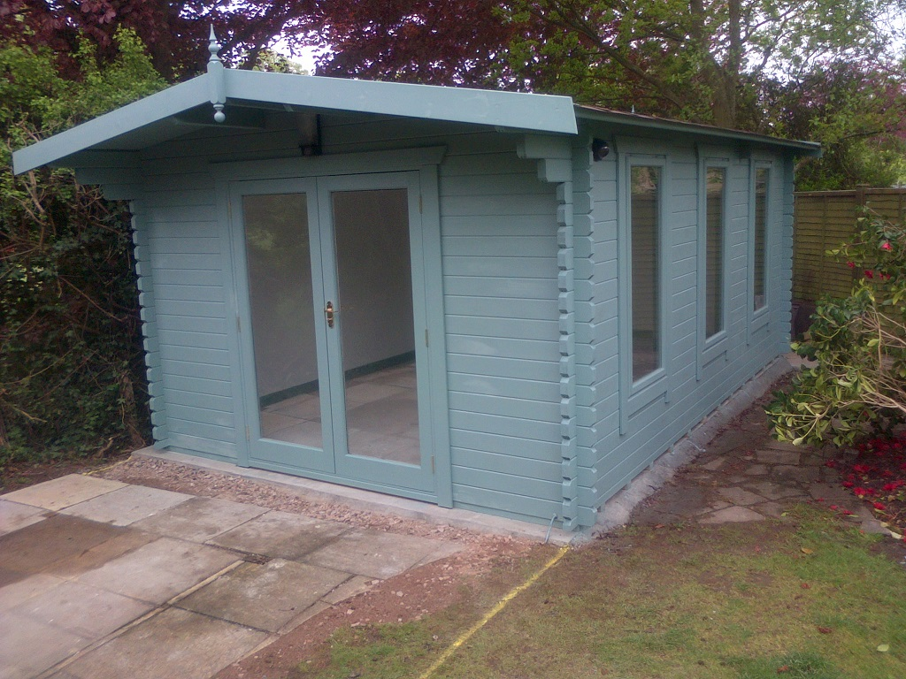 Insulated Garden Shed >> Southwick's Garden offices: May 2013