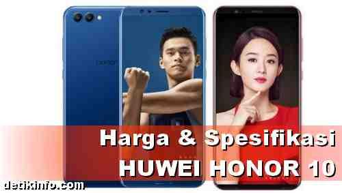 Harga dan Spesifikasi Huawei Honor 10