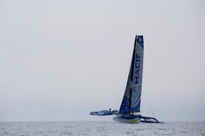 Macif 100 de François Gabart a repris les entrainements