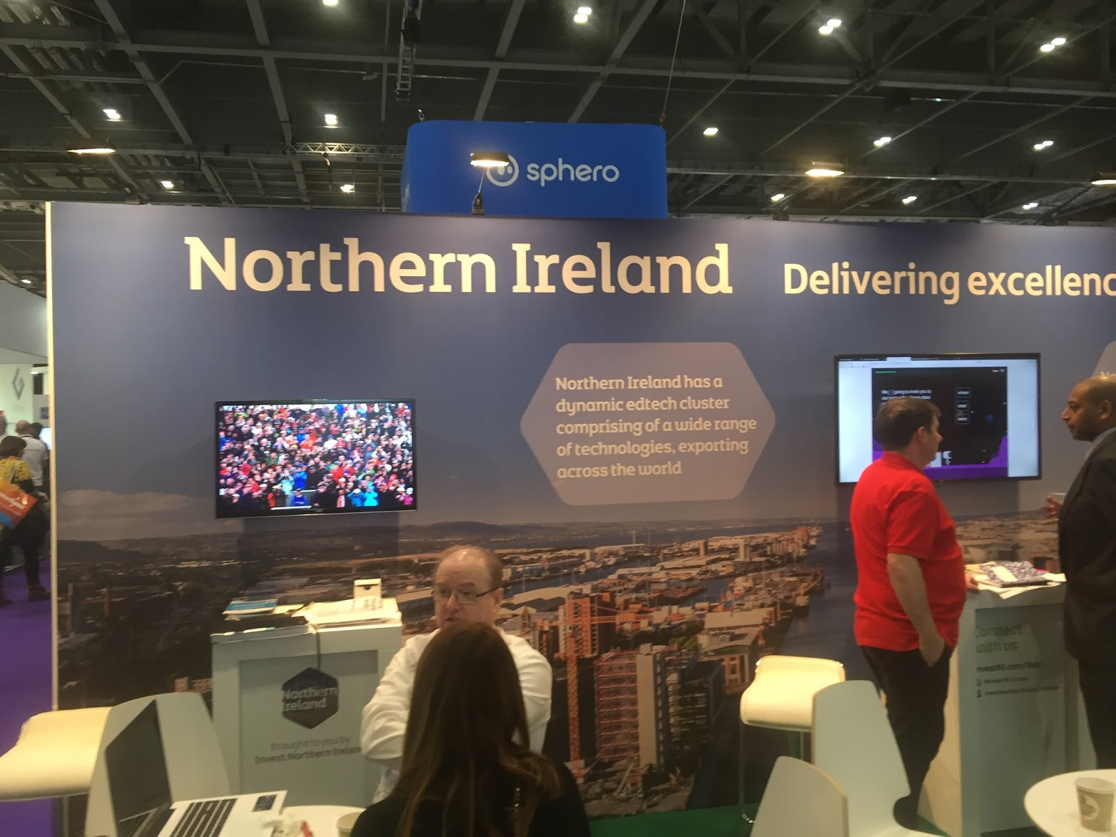 why scottish education needs a stand at bett on one stand public education agencies and private companies that support learning in northern ireland [ 1600 x 1200 Pixel ]