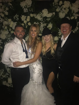 Austin Dillon and Whitney Ward Gets Hitched Last Night.
