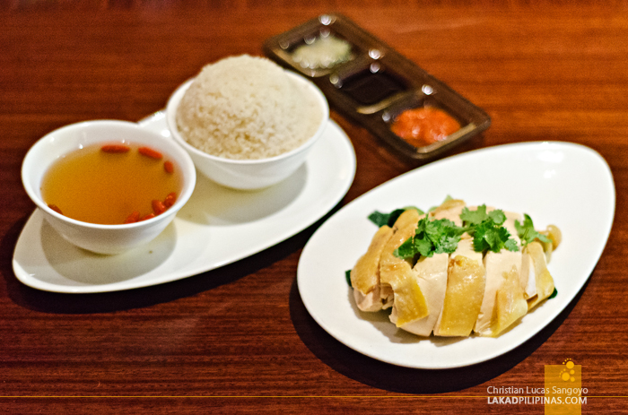 Café Causette Mandarin Oriental Hainan Chicken