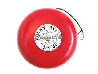 """Darmatek Jual Alarm Bell TAB 4"""" -- 24VDC"""