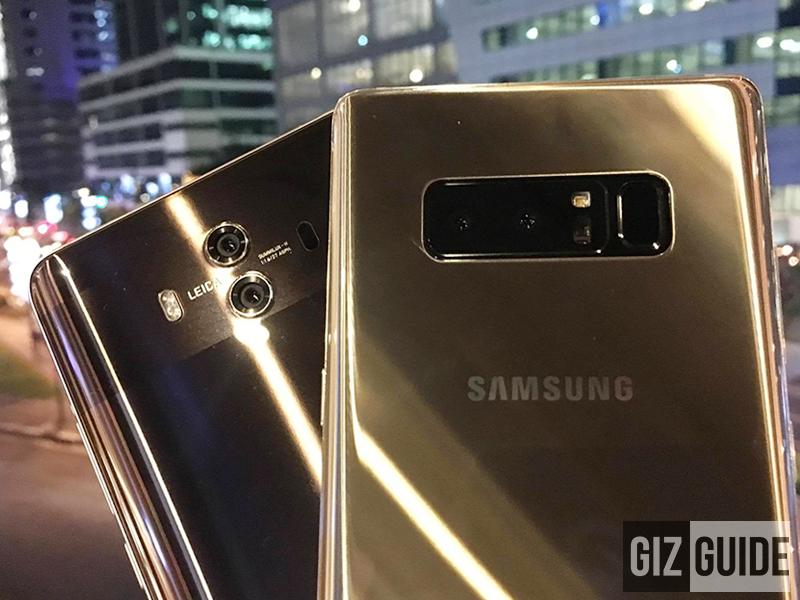 Huawei Mate 10 vs Samsung Galaxy Note 8 Mini Lowlight Main Camera Comparison