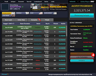 Cara Daftar Judi Turnamen Poker Online BandarGame.net