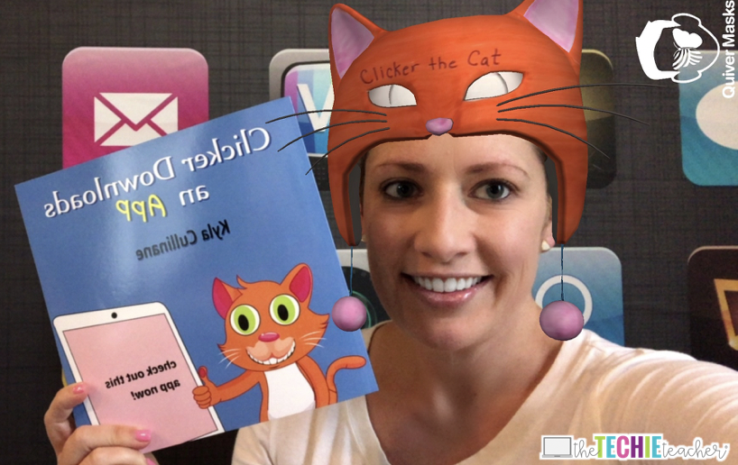 Combine the Quiver Vision Masks App with read alouds for fluency practice
