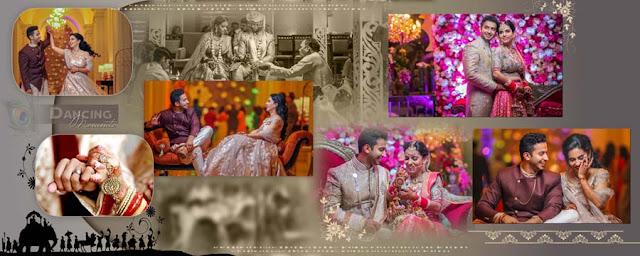 Indian Wedding Album Cover Design