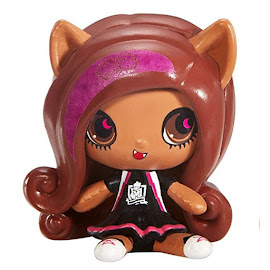 MH Fearleading Ghouls Clawdeen Wolf Mini Figure