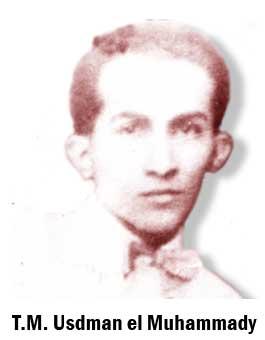 T.M. Usdman el Muhammady ahli budaya