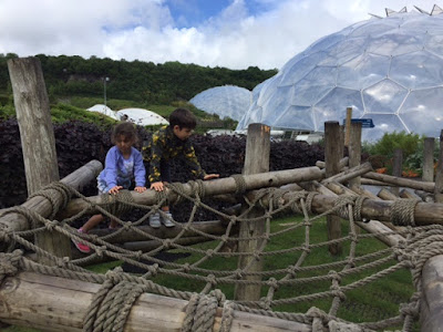 Children at the Eden Project