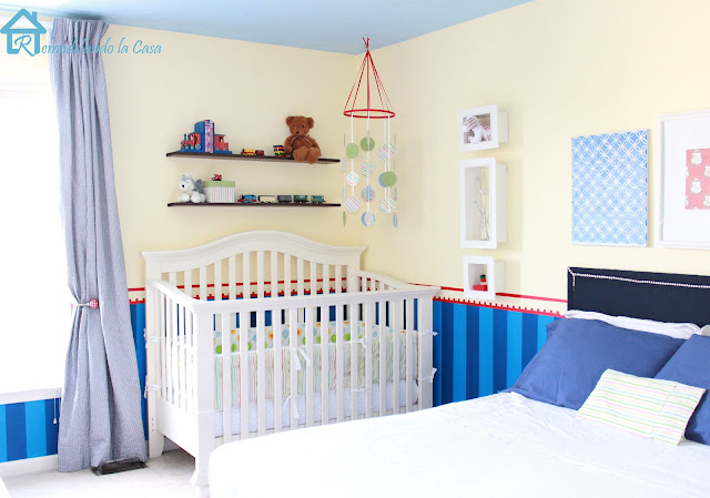 crib, train room