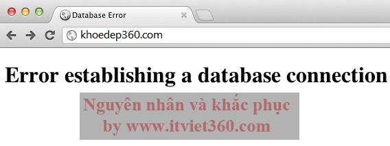 "Fix ""Error Establishing a Database Connection"" WordPress Localhost"