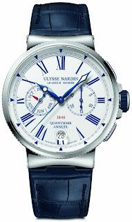 Montre Ulysse Nardin Marine Calendrier Annuel Chronographe