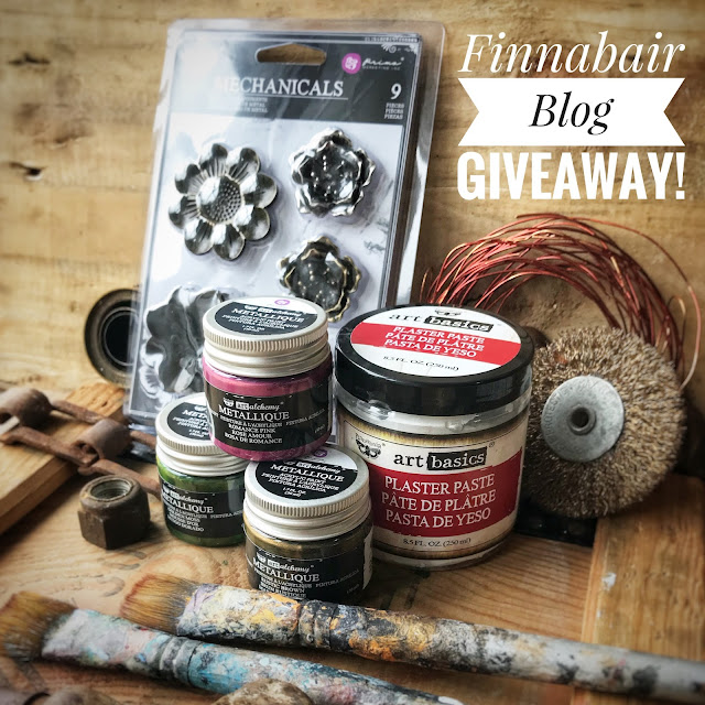 New Finnabair Product Giveaway! до 10 февраля