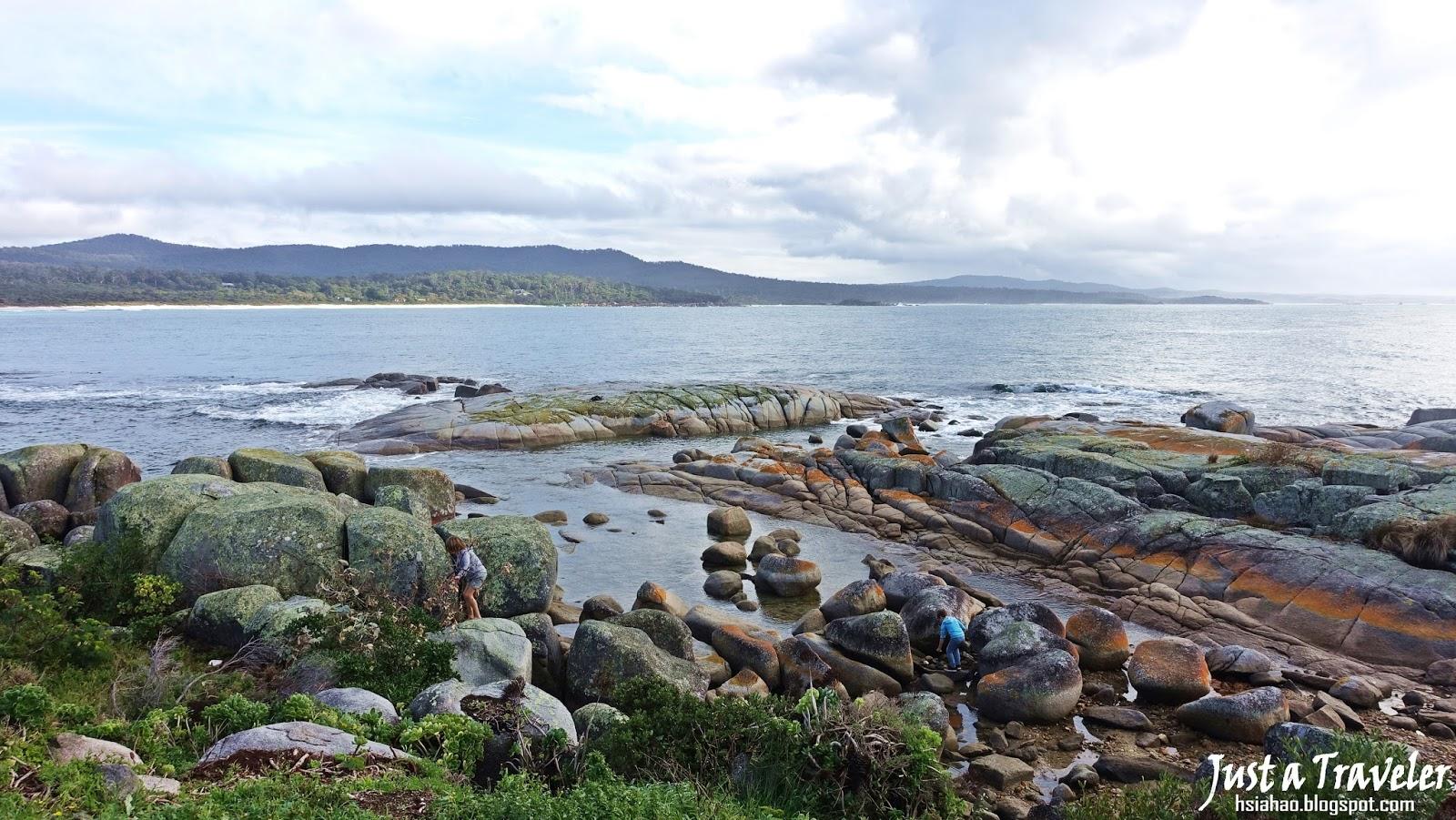 塔斯馬尼亞-景點-推薦-火焰灣-旅遊-自由行-澳洲-Tasmania-Bay-of-Fires-Tourist-Attraction-Australia