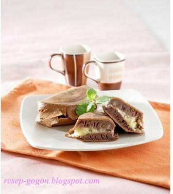 Cara Membuat Martabak Cokelat Kacang Merah Spesial
