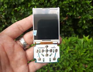 LCD Display Plus Keypad Konektor Samsung SGH-J800 Luxe Jadul