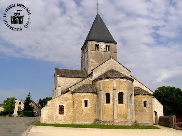 TIL-CHATEL (21) - Eglise romane Saint-Florent (Extérieur)