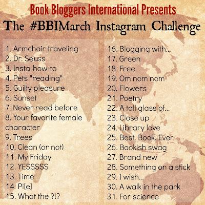 #BBIMarch instagram challenge