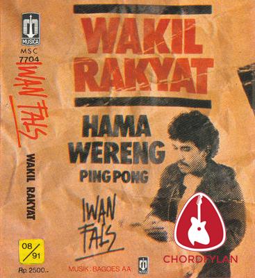 Lirik dan chord Wakil Rakyat - Iwan Fals
