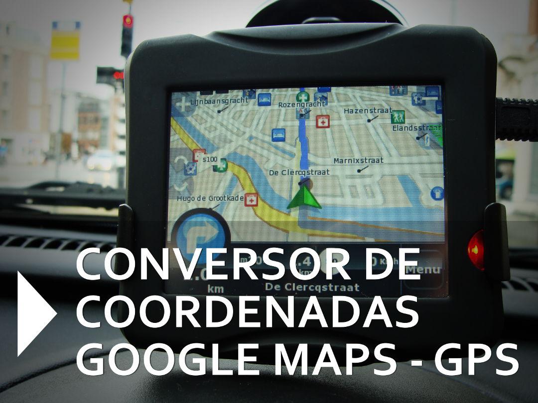 Conversor de coordenadas