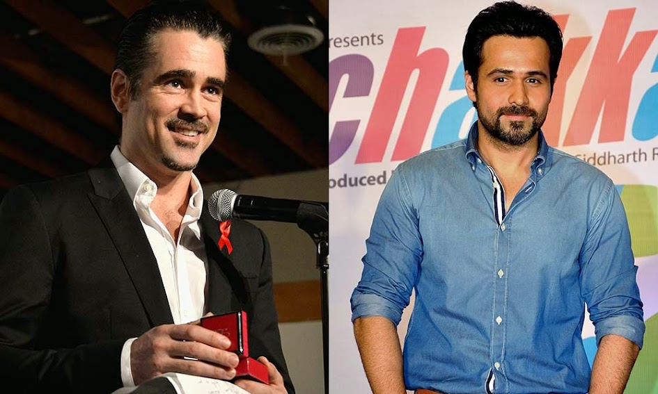 Emraan Hashmi and Colin Farrell
