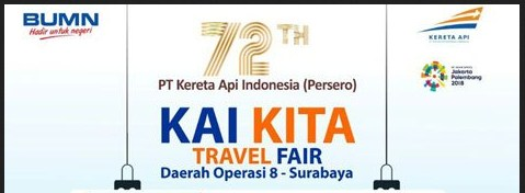 Jadwal dan Daftar promo di KAI Travel Fair September 2017