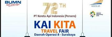 Jadwal dan Daftar Promo di KAI Travel Fair September 2017