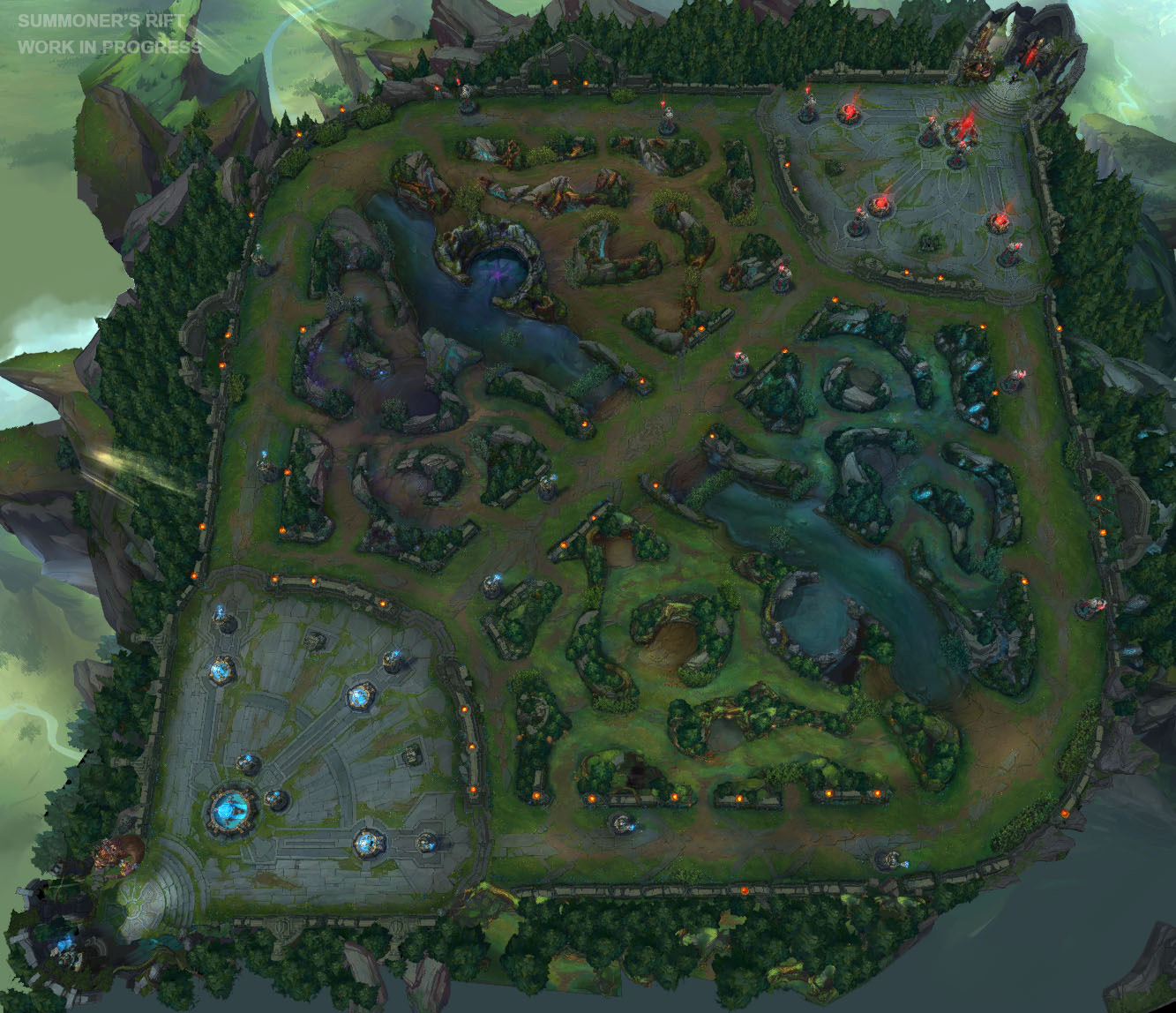 Mapa League Of Legends.Riot S Focus For 2020 League Of Legends Season Is To Bring