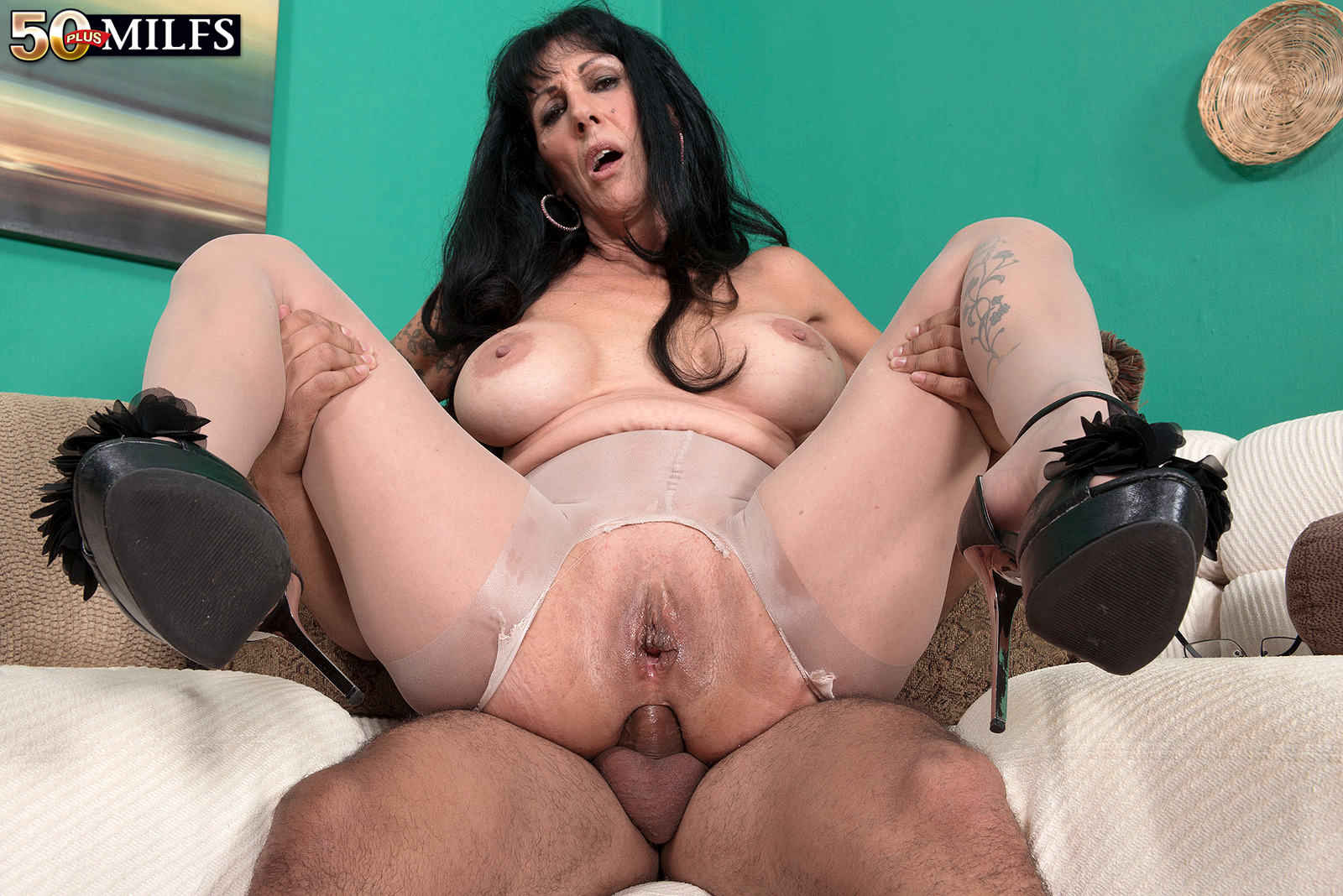 Regret, mature stockings anal sex
