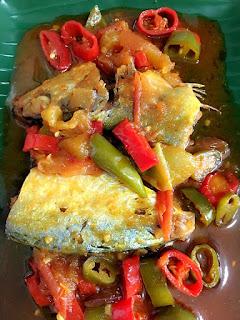 masak ikan asin