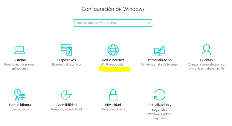 Como compartir Internet en Windows 10 a otros dispositivos