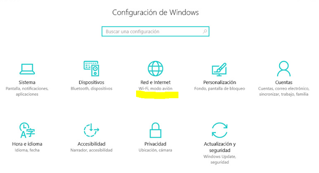 Como compartir Internet en Windows 10 a otros dispositivos